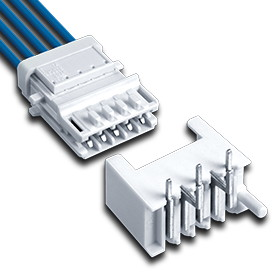 ECO-TRONIC Crimp Stocko connector system pitch 2,5mm IDC housings - Direct and indirect connectors with IDC termination in accordance with the RAST 2.5 standard specification for domestic appliances